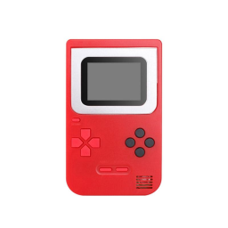 Mini Handheld Game Console 2.0 - Includes 268 Games / Red