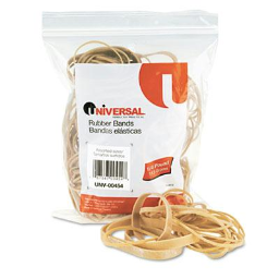 Universal Assorted Size Rubber Bands  1/4 lb. Pack