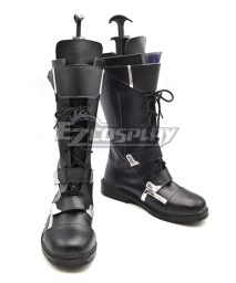 Captain America The Winter Soldier Black Shoes Cosplay Boots