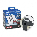 """Brother DK2205 Continuous Paper 2.4"""" x 100 ft. Label Tape Roll  White"""