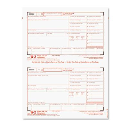 """TOPS 8-1/2"""" x 5"""" Carbonless W-2 Tax Form Kit  24-Forms & Envelopes"""