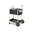 """Safco Scoot 27"""" D Mail Cart"""