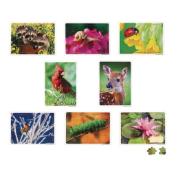 Excellerations® Garden Creature Puzzles - Set of 8