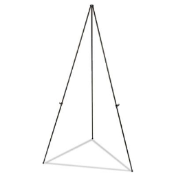 """Universal One 43027 Instant Setup 25"""" to 63"""" H Foldaway Easel Stand"""