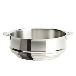 Cristel Strate L Brushed Stainless Universal Steamer