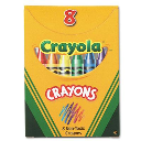 Crayola Classic Color Pack Crayons  Tuck Box  8-Colors