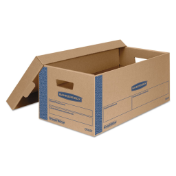 """Bankers Box 21"""" x 17"""" x 17"""" SmoothMove Classic Moving & Storage Boxes  Pack of 5"""
