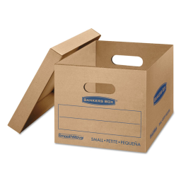 """Bankers Box 15"""" x 12"""" x 10"""" SmoothMove Classic Moving & Storage Boxes  Pack of 15"""