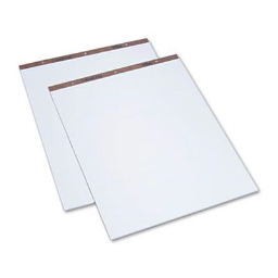 """TOPS 27"""" x 34""""  50-Sheet  2-Pack  Unruled Easel Pads"""