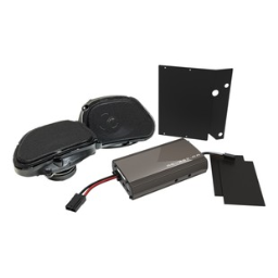 Hogtunes Front Speakers And 225 Watt Amp Kit For Harley Road Glide 199