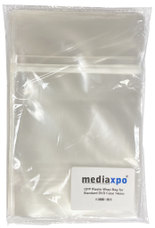 Resealable Clear OPP Bags for 14mm Standard DVD Case - 2000