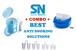 Anti-Snoring Solutions - Best Devices to Stop Snoring and Teeth Grinding –Value Pack