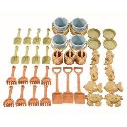 Eco-Friendly Mega Sand Toy Set 42-Pieces