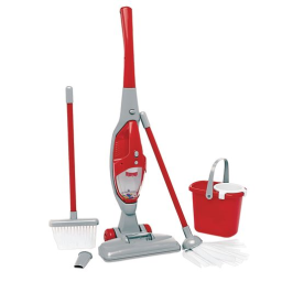 My First Cleaning Play Set with Lights & Sounds Vacuum, Broom, Mop and Pail
