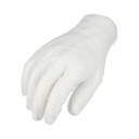 Clear Vinyl Gloves - Powdered - 5 Mil - Small - 100 Pieces = 1 Box