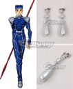 Fate Stay Night Lancer Cu Chulainn Earrings Cosplay Accessories Prop