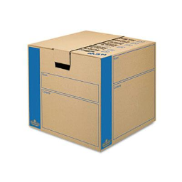 """Bankers Box SmoothMove 18"""" x 18"""" x 16"""" Prime Moving & Storage Boxes  8-Boxes"""