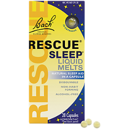 Rescue Remedy Liquid Melts  - Homeopathic Remedy for Natural Stress Relief (28 Capsules)