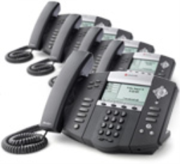 Polycom 2200-12550-001-5 SoundPoint IP 550 4-Line IP Phone with AC