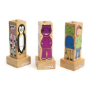 Excellerations® 3-D Spindle Puzzles - Set of 3