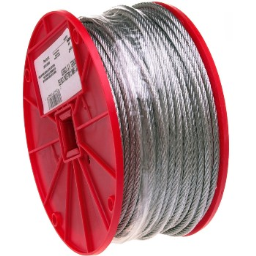 """Apex/Cooper Tool  7000927 Uncoated Cable, 200 ft. ~ 5/16"""""""