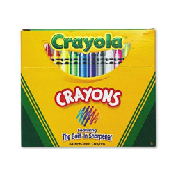 Crayola Classic Color Pack Crayons  64-Colors