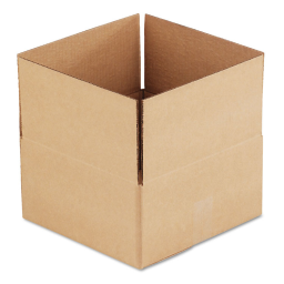 """General Supply 12"""" x 12"""" x 6"""" Corrugated Shipping Boxes  Brown  Pack of 25"""