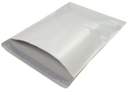 #4 White 10 x 13 Poly Plastic Mailer - 100