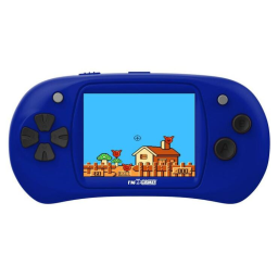 Handheld Video Game Player - 150 Games Built-In / Blue