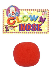 Novelty Red Clown Nose