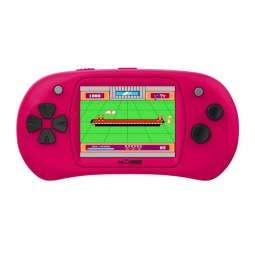 Handheld Video Game Player - 150 Games Built-In / Pink