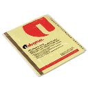 Universal One Letter A-Z Tab Plastic-Coated Tab Index Dividers  Buff  1 Set