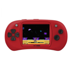 Handheld Video Game Player - 150 Games Built-In / Red