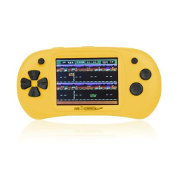 Handheld Video Game Player - 150 Games Built-In / Yellow