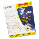 """C-Line 8-1/2"""" x 11"""" Top-Load Standard Clear Poly Sheet Protectors  50/Box"""