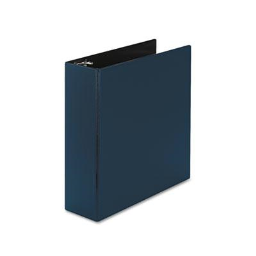 """Avery 3"""" Capacity 8-1/2"""" x 11"""" Slant Ring Durable Non-View Binder  Blue"""
