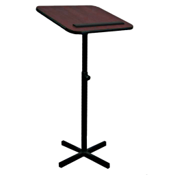 Amplivox Xpediter Adjustable Height Wooden Lectern Stand