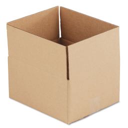"""General Supply 12"""" x 10"""" x 6"""" Corrugated Shipping Boxes  Brown  Pack of 25"""