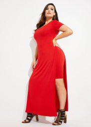 Plus Size The Michelle Duster, Red, 3X - Ashley Stewart