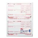 """TOPS 8-1/2"""" x 5"""" 4-Part Carbonless W-2 Tax Form  50-Forms"""
