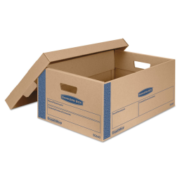 """Bankers Box 24"""" x 15"""" x 10"""" SmoothMove Prime Moving & Storage Boxes  Pack of 8"""