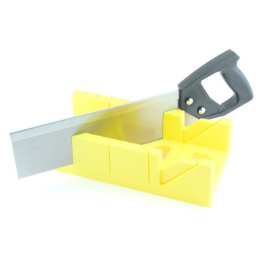 Great Neck BSB14 Mitre Box With Saw, 12 inch