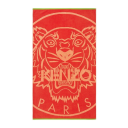 Tiger Rouge Beach Towel by Kenzo