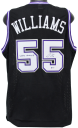 """Kings Jason Williams """"White Chocolate"""" Authentic Signed Black Jersey BAS"""