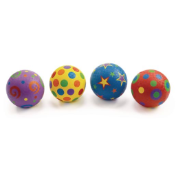 Excellerations® Whimsical Playground Balls - 5, Set of 4
