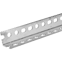 Hillman/Steelworks 11104 Angled Steel - Slotted - 1 1/2 x 12 inch