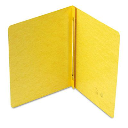 """Smead 3"""" Capacity 8-1/2"""" x 11"""" Prong Fastener Side Opening PressGuard Report Cover  Yellow"""