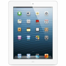 Apple iPad 4 with Retina Display - Assorted Colors and Sizes / White / 32GB