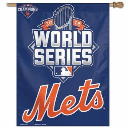 NY Mets 2015 National League Champions 27 x 37 Inch Banner
