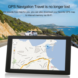 KKmoon 9inch Tablet GPS Navigation Android Smart System 16GB Portable Car Stereo Audio Player Multimedia Entertainment Wi-Fi BT FM USB/SD Free Map